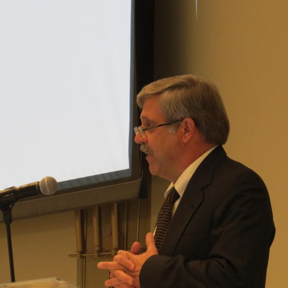 Steve Williams of WMI delivers the opening remarks at the 83rd North American Wildlife and Natural Resources Conference