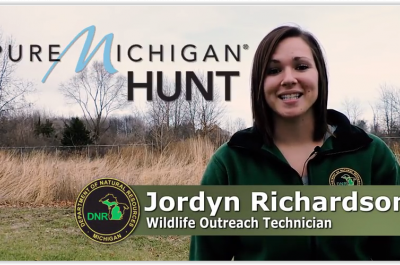 Still frame of Pure Michigan Hunt Marketing Video
