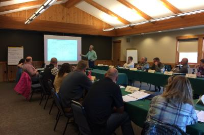 Wildlife Governance Training Session in Estes Park, CO