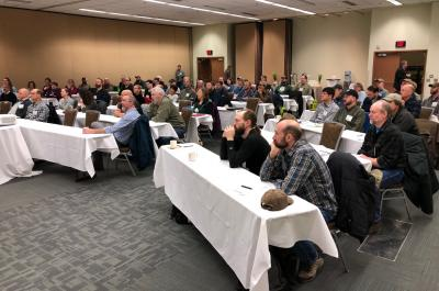 Attendees at the Alaska Moose Monitoring Workshop