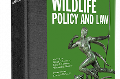 North American Wildlife Policy and Law Book Cover