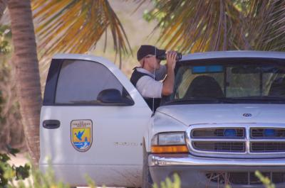 USFWS Law Enforcement Looking for Poachers