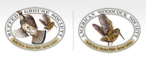 Ruffed Grouse Society and American Woodcock Society Logos