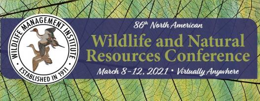 86th North American Wildlife and Natural Resources Conference banner