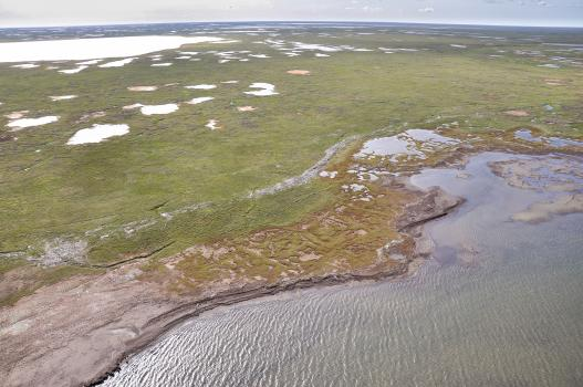 Beaufort Sea shoreline